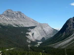 Icefields Parkway, Banff National Park, Canada, taken by Martha Wiggins, 2010