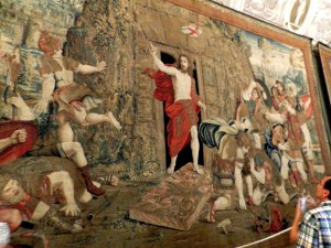 Resurrection Tapestry, Vatican Museum, taken by Martha Wiggins 2012