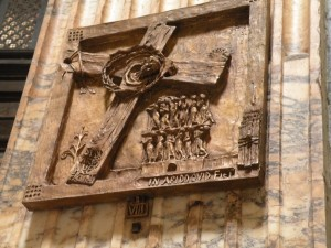 One of the Stations of The Cross inside the Pantheon, Rome, Italy, 2011, taken by Martha Wiggins