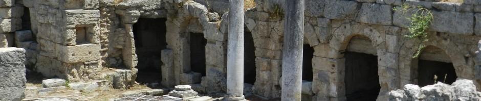 Ruins at Corinth, Greece, 2012, taken by Martha Wiggins