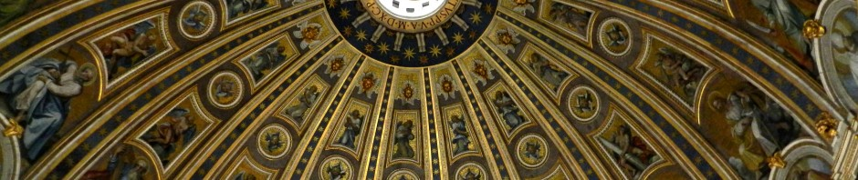 Dome of St. Peter's Basilica, Rome, 2012, taken by Martha Wiggins