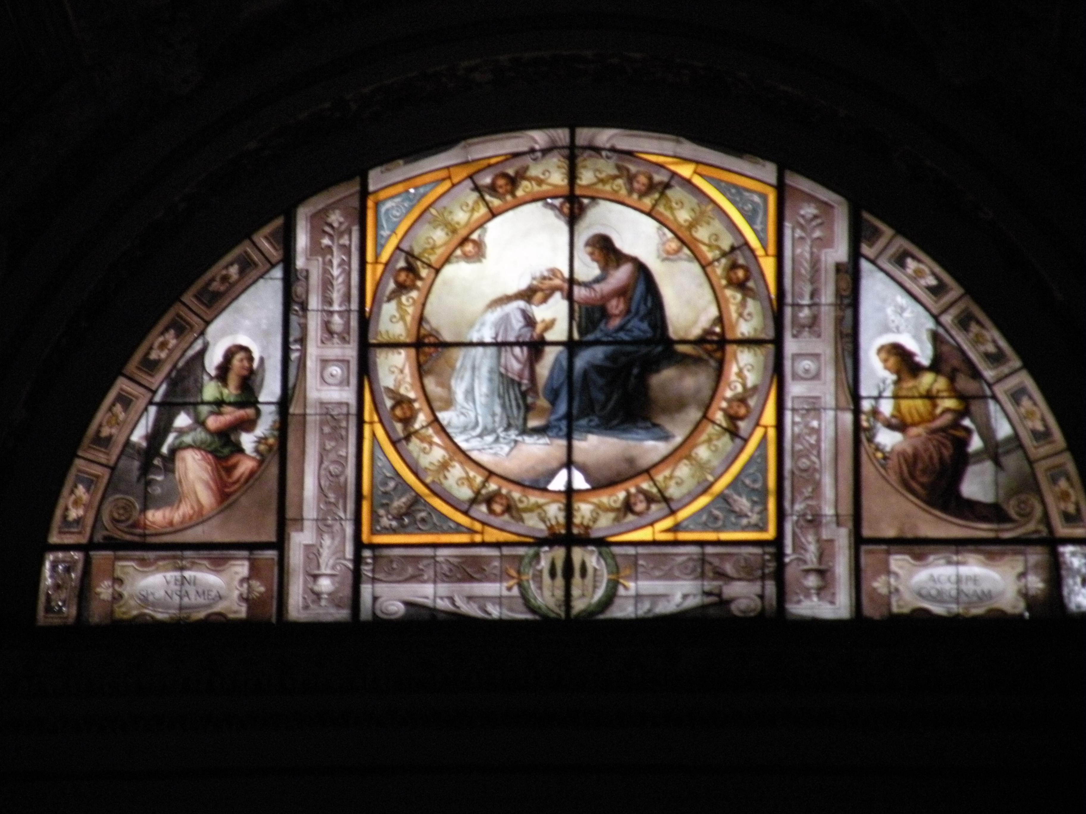 Basilica Santa Maria sopra Minerva, Rome, Italy, (Basilica of St. Mary over Minerva) taken by Martha Wiggins, 2011