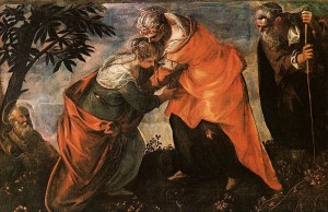 The Visitation by Jacopo Timtoretto
